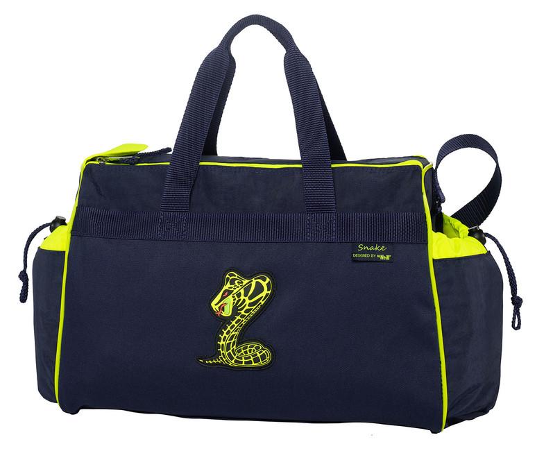 5ef7d21225a3c Detská cestovná taška SNAKE - Tigger.sk