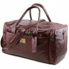 Kožená cestovná taška TL VOYAGER