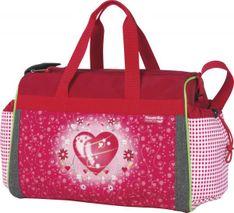 McNEILL Detská cestovná taška HEARTS