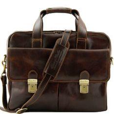 Kožená laptop taška REGGIO EMILILA
